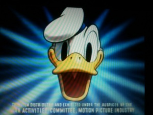 image of Donald Duck from the spirit of '43