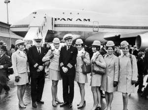1960s image of pan-am airlines
